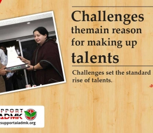 Challenges the main reason for making up talents
