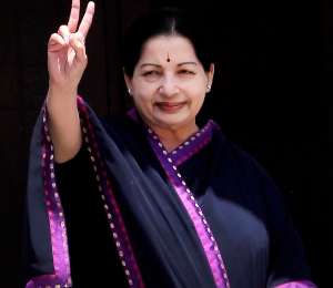 Jayalalithaa on her 66th birth day celebration