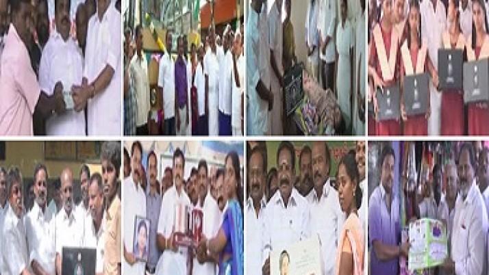 அரசின் நலத்திட்ட உதவிகள் :முதலமைச்சர் ஜெயலலிதா உத்தரவுப்படி,மக்களுக்கு தொடர்ந்து வழங்கப்பட்டு வருகின்றன