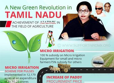 A New Green Revolution in Tamil nadu