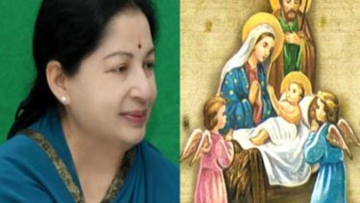 இன்று ஈஸ்டர் திருநாள்: முதல்வர் ஜெயலலிதா வாழ்த்து