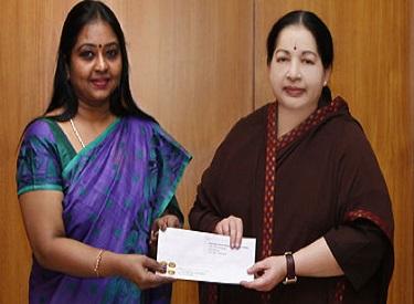 முதலமைச்சர் பொது நிவாரண நிதிக்கு, ஜெயா தொலைக்காட்சி 5 கோடி ரூபாய் வழங்கியது