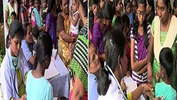 சென்னை, காஞ்சிபுரம், திருவள்ளூர் மாவட்டங்களில் முதலமைச்சர் ஜெயலலிதா உத்தரவின்பேரில்,தட்டம்மை தடுப்பூசி முகாம்கள்:ஒரே நாளில் 31,692 பேர் பயன் பெற்றனர்