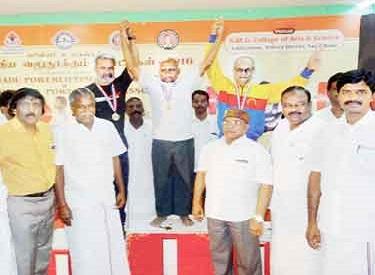 முதலமைச்சர் ஜெயலலிதா விளையாட்டு துறைக்கு மட்டும் ரூ.570 கோடியை ஒதுக்கி உள்ளார்:பரிசளிப்பு விழாவில் அமைச்சர் சுந்தர்ராஜ் பேச்சு