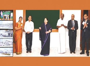தமிழ்நாட்டில் ரூ.1033 கோடியில் 35 துணை மின் நிலையங்கள்: முதல்வர் ஜெயலலிதா திறந்து வைத்தார்