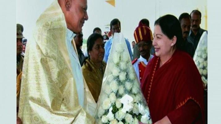 மழை, வெள்ள பாதிப்புகளை முதலமைச்சர் ஜெயலலிதா தலைமையிலான அரசு சிறப்பாகக் கையாண்டது: ஆளுநர் ரோசய்யா புகழாரம்