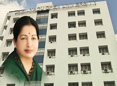 """முதலமைச்சர் ஜெயலலிதாவின் சிறப்பான நடவடிக்கையால் தமிழ்நாடு திறந்தநிலை பல்கலைக்கழகத்திற்கு, சிறந்த கட்டமைப்பு, கல்வித் தரத்திற்கான """"12-B Status"""" அந்தஸ்து கிடைத்துள்ளது"""