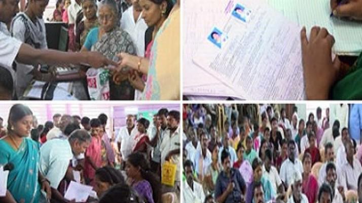 வேலூர் மாவட்டத்தில் 1,29,000 அமைப்புச்சாரா தொழிலாளர்களுக்கு ரூ.25 கோடி மதிப்பிலான நலத்திட்ட உதவிகள் :முதலமைச்சர் ஜெயலலிதாவுக்கு அனைத்து தரப்பு தொழிலாளர்களும் நன்றி