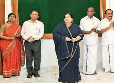 புதிய அரசு தொழிற்பயிற்சி மையங்கள்: முதல்வர் ஜெயலலிதா தொடங்கி வைத்தார்