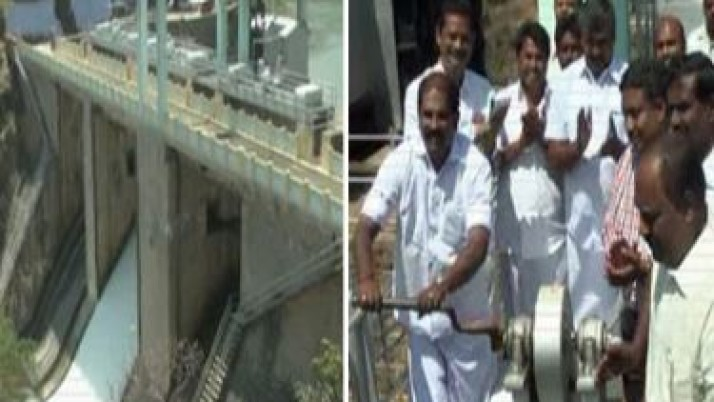 முதலமைச்சர் ஜெயலலிதா உத்தரவுபடி பரப்பலாறு அணையிலிருந்து பாசனத்திற்காக தண்ணீர் திறப்பு:223 ஏக்கர் நிலங்கள் பாசனவசதி பெறும்
