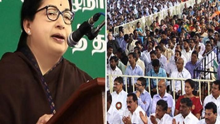 தமது தலைமையிலான அரசு, மக்கள் நலனுக்காகவே ஒவ்வொரு திட்டத்தையும் தீட்டி செயல்படுத்தி வருகிறது :முதல்வர் ஜெயலலிதா பேருரை