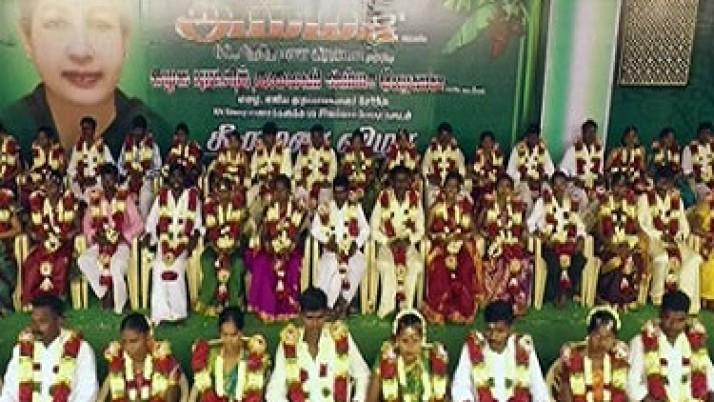 முதல்வர் ஜெயலலிதா பிறந்தநாள் விழா: 68 ஜோடிகளுக்கு 68 வகையான சீர்வரிசைகளுடன் இலவச திருமணம்