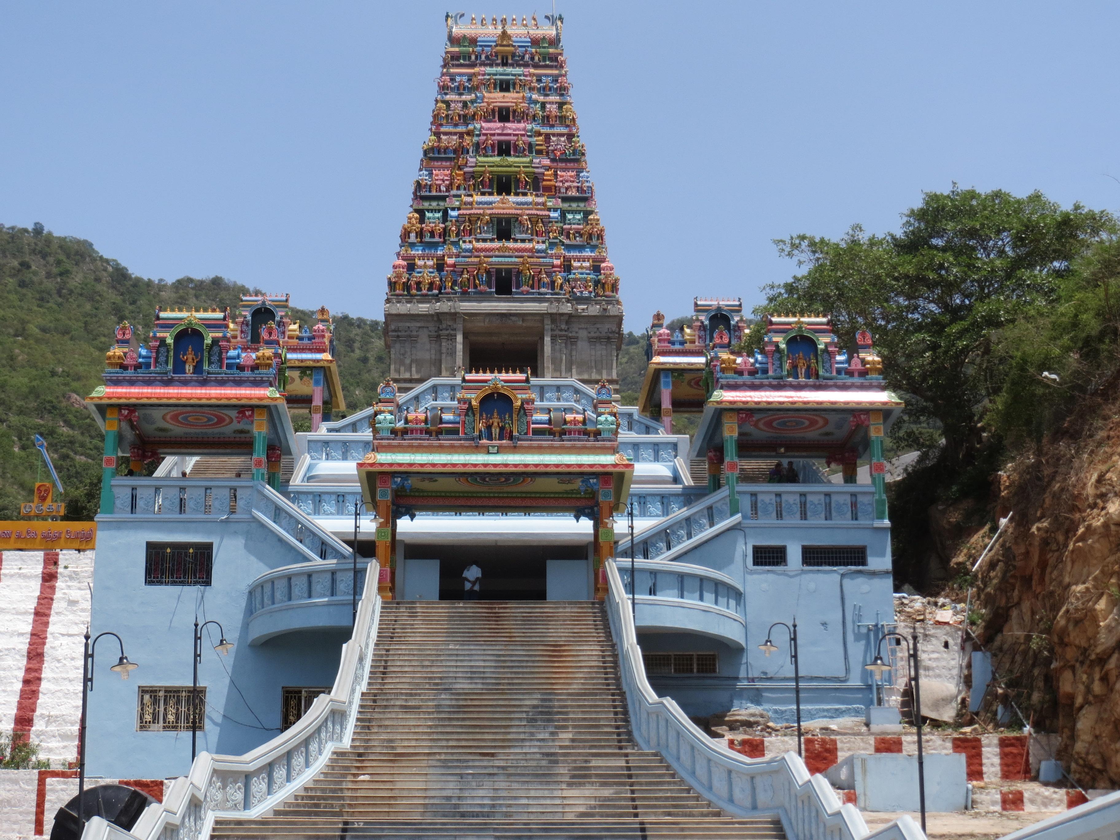 Maruthamalai Rajagopuram Coimbatore