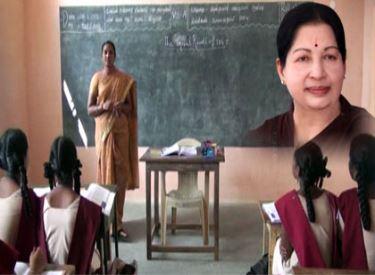 ஆங்கிலவழிக் கல்வியை, அரசுப் பள்ளிகளில் அறிமுகப்படுத்திய முதலமைச்சர் ஜெயலலிதாவுக்கு, பயனடைந்து வரும் மாணவ-மாணவிகள் நன்றி