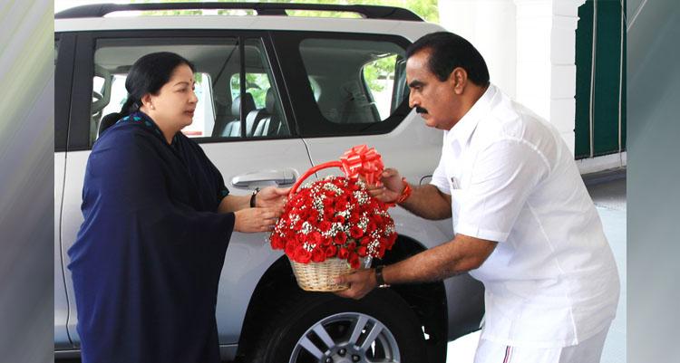 MLA Mr. M.S.M. Anandan with CM