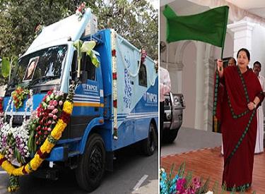 சுற்றுப்புற காற்று மாசு கண்காணிக்கும் வாகன சேவையை முதலமைச்சர் ஜெயலலிதா தொடங்கிவைத்தார்
