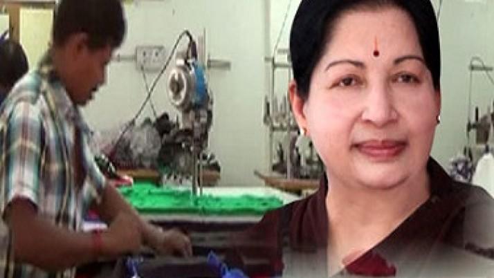முதலமைச்சர் ஜெயலலிதாவின் நடவடிக்கைகளால் வேலைவாய்ப்பு வழங்குவதில் இந்தியாவிலேயே முதலிடம் பெற்ற திருப்பூர்