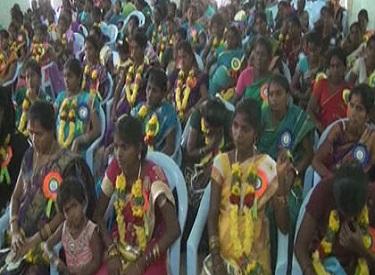 தமிழக அரசின் சார்பில் நடத்தப்பட்ட சமுதாய வளைகாப்பு : முதலமைச்சர் ஜெயலலிதாவுக்கு பெண்கள் நெஞ்சார்ந்த நன்றி