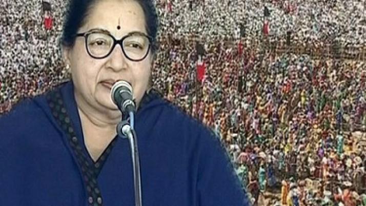 நாளை திருச்சி பொதுக்கூட்டத்தில் பேசுகிறார் முதலமைச்சர் ஜெயலலிதா