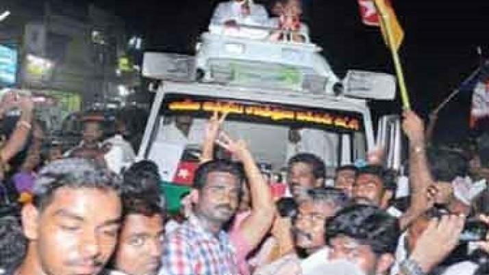 கடந்த 5 ஆண்டுகளில் முதலமைச்சர் ஜெயலலிதா தொலைநோக்கு பார்வையுடன் திட்டங்களை தந்திருக்கிறார் : நாகர்கோவிலில் சரத்குமார் பேச்சு