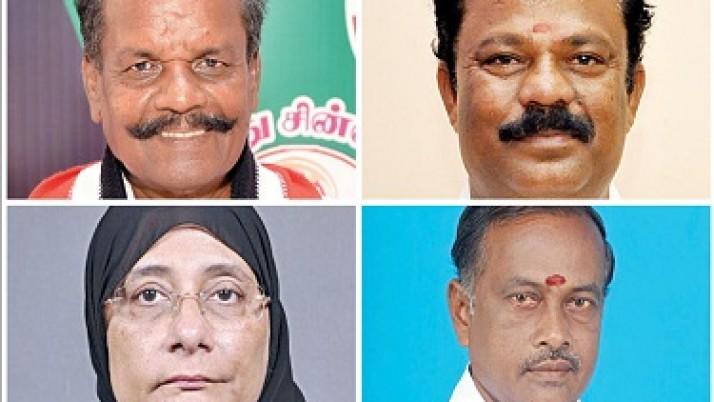 மேலும் 4 புதிய அமைச்சர்கள் நியமனம் : முதல்வர் ஜெயலலிதா அறிவிப்பு