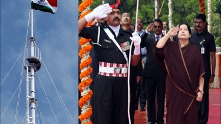 சென்னை கோட்டையில் நாளை சுதந்திர தின விழா கொண்டாட்டம் : முதல்வர் ஜெயலலிதா தேசிய கொடி ஏற்றி சிறப்புரையாற்றுகிறார்