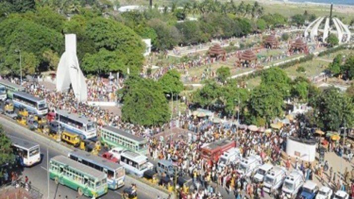 முதலமைச்சர் ஜெயலலிதாவின் உடல் எம்.ஜி.ஆர். நினைவிடம்  அருகில் இன்று மாலை நல்லடக்கம்