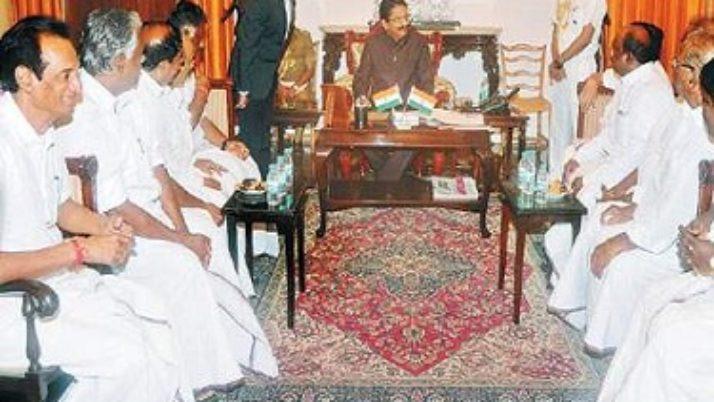 கவர்னர் வித்யாசாகர் ராவுடன் முதல்வர் ஒ.பன்னீர்செல்வம் மீண்டும் சந்திப்பு