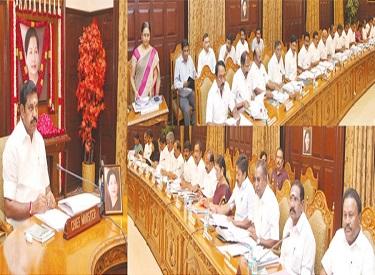 முதல்வர் எடப்பாடி தலைமையில் தமிழக அமைச்சரவை கூட்டம் : பட்ஜெட் பற்றி முக்கிய ஆலோசனை