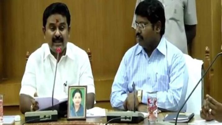 ரேஷனில் மக்கள் விரும்பாத பொருட்களை வாங்க கட்டாயப்படுத்தினால் நடவடிக்கை எடுக்கப்படும் : அமைச்சர் காமராஜ்